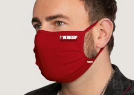 Hochwertige Schutzmaske mit TSV-Logo
