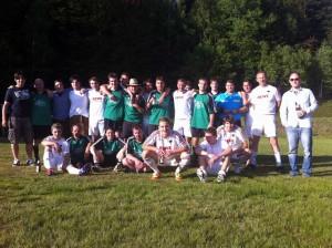 1. und 2. Mannschaft des TSV Spiegelau