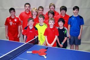 Jugend der Sparte Tischtennis