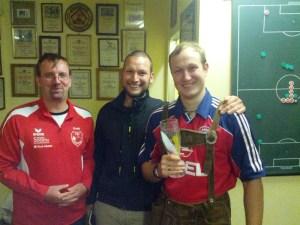 Danke an Josef Scheichenzuber für eine Spielzeit beim TSV