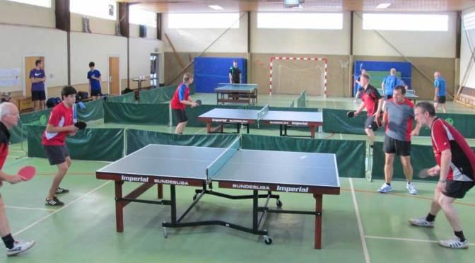 Tischtennissparte des TSV Vordorf feiert 50-jähriges Bestehen