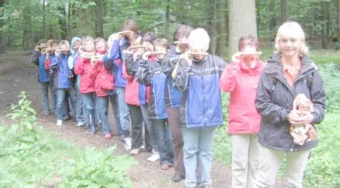 … auf Entdeckungstour im Eickhorster Wald …