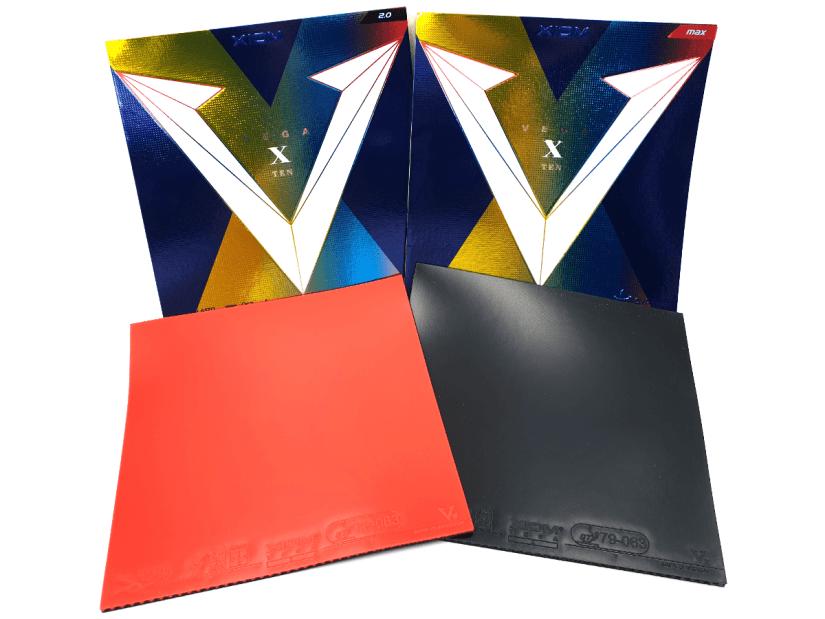 Xiom Vega X rubbers