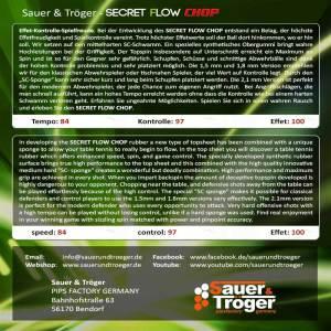 Secret Flow Chop Cover