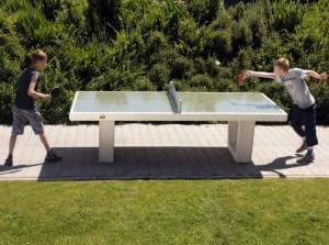 Tischtennis draußen