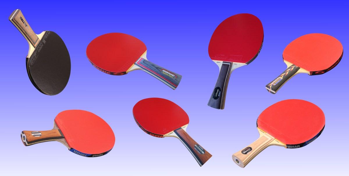 Tischtennisschläger Test 2018 - Die 6 besten Profi Tischtennisschläger im Vergleichstest