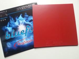 Donic Bluefire Big Slam Belag und Cover
