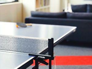 Tischtennisplatte Test Wohnzimmer TT