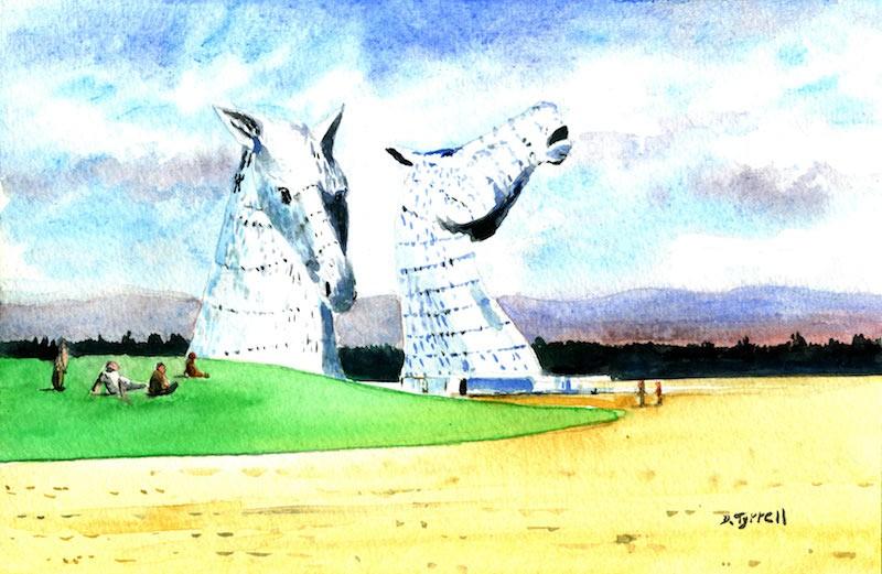 Kelpies by David Tyrrell