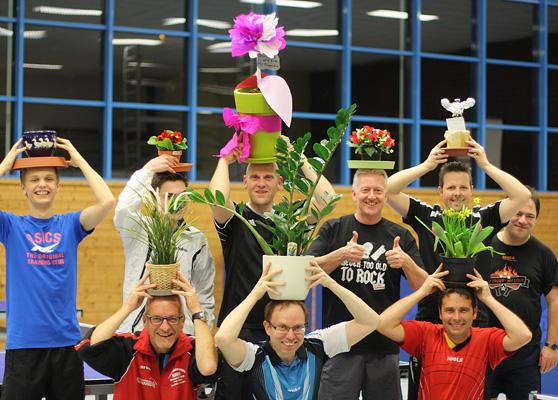 Teilnehmer der Blumentopf WM 2016