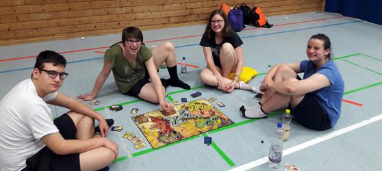 Viel Spaß auch beim Brettspiel