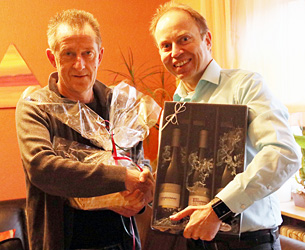 Der TTC Muggensturm gratuliert Artur Dahringer zum 60. Geburtstag