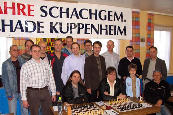 Mario Hackels Kuppenheimer Schachteam