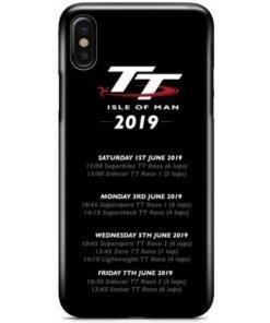 Isle of Man TT 2019 Schedule Phone Case