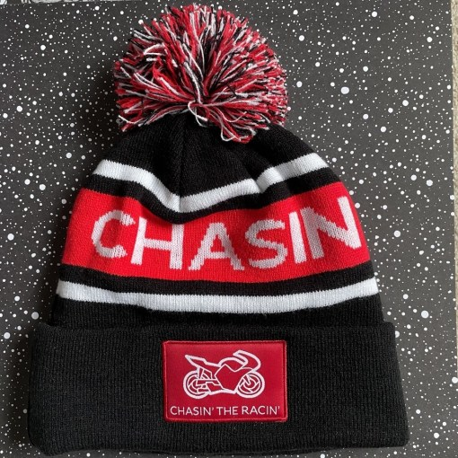Chasin the Racing Trackside Bobble Hat