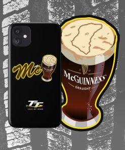 McPint TT - John McGuinness - TT Phone Case