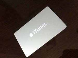 Appleストアで1万円のiTunesカードとMini DisplayPort 変換アダプタを購入♬