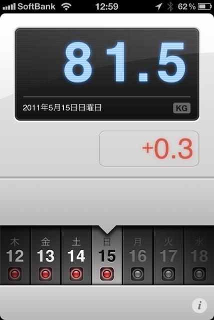 ランニング日誌(11/05/15)今季初ドリンクボトル出動11kmラン!