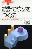 簡単に操作できることを知ろう 書評「統計でウソをつく法」 by ダレル・ハフ