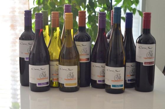 チリのイチ押しワイン「コノスル」が組み合わせ自由で12本激安だったので買ってみた!!