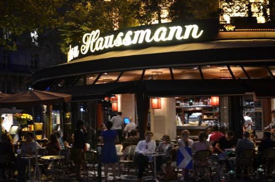 Le Triadou Haussmann(ル・トリアドゥ・オスマン) 〜 パリ・オペラ座近くのおしゃれブラッスリー [2012年夏 ヨーロッパ旅行記 その21]