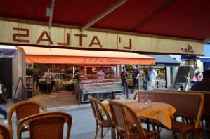 L'Atlas 〜 パリ・サンジェルマン裏通りの美味しいカジュアル・ブラッスリーでパリ最後の晩餐を楽しんだ!! [2012年夏 ヨーロッパ旅行記 その31]