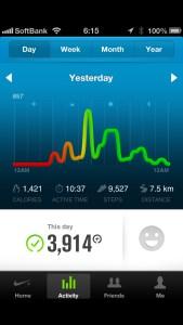 そして二日で1.5kg減  [カラダログ 2012/09/24]