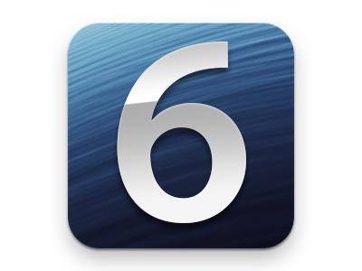 iOS 6がきた!早速アップデートしてみた!!