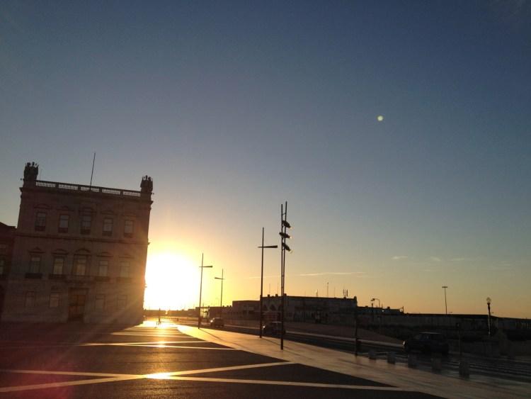 美しすぎるリスボンの夜明けラン!2日目の朝も雄大だった!!  [2012年夏 ヨーロッパ旅行記 その43]