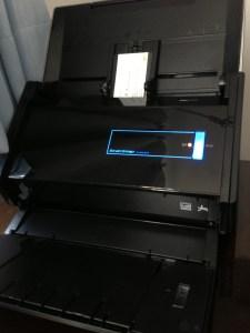 ScanSnap iX500がやってきた! 黒い!速い!ワイヤレス・スキャンが凄い!!