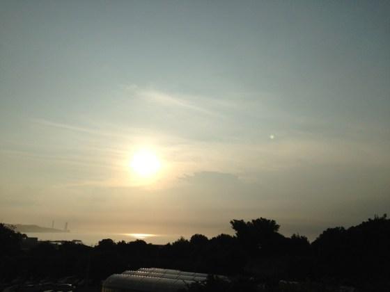 合宿セミナー最終日三浦海岸5kmラン♪ つくばマラソンまで120日!