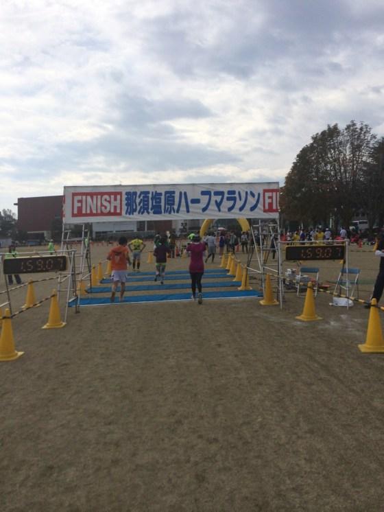 那須塩原ハーフマラソン完走しました!自己ベストから10分遅れ。悪いなりにまとめた!!