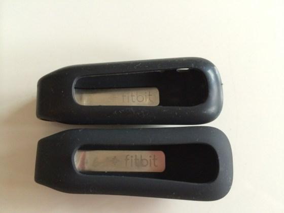 2代目 Fitbit One が到着 — ラバーケースの素材が変わっていて思うこと