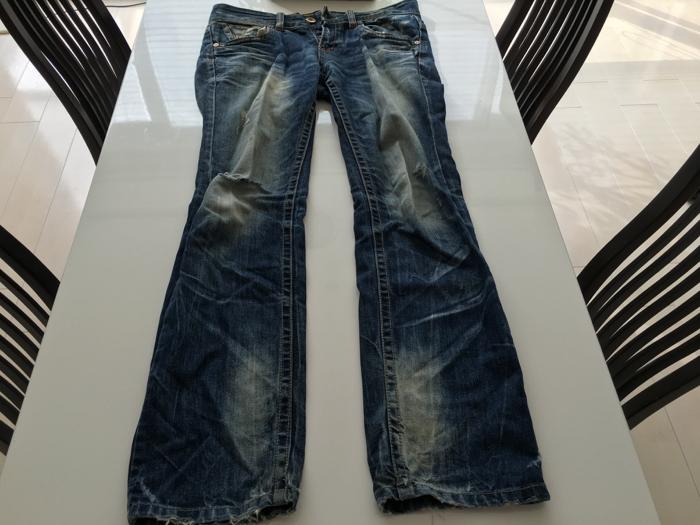 かつて履きまくったけどタンスの肥やしになっているお気に入りジーンズを処分 [1日1捨 No.33]