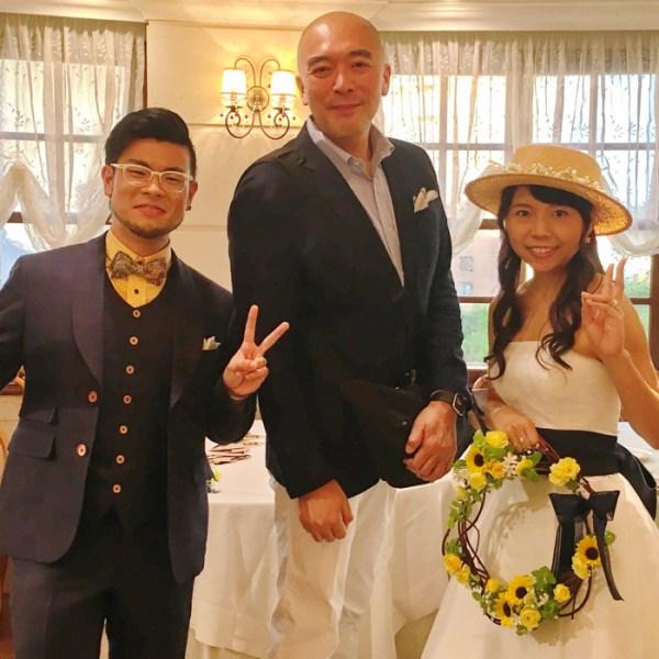 祝!gori.me 中の人の結婚パーティーに参列させていただいた!!とっても素敵だったよ!!