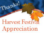 Harvest Fest Appreciation