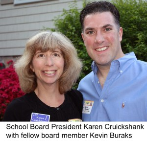 Karen Cruickshank with Kevin Buraks