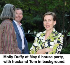Molly Duffy, & husband Tom