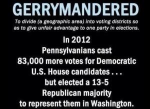 gerrymandered