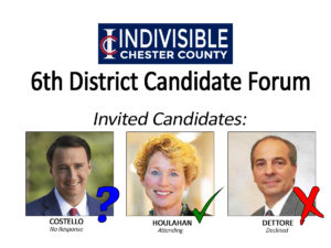 Congressional Candidate Forum 6th District @ Tredyffrin Township Building