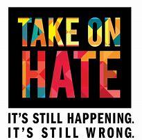 "Meme titled ""Take on Hate"""