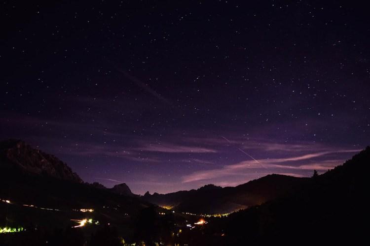 The Dolomites at Night © Bethany Lloyd