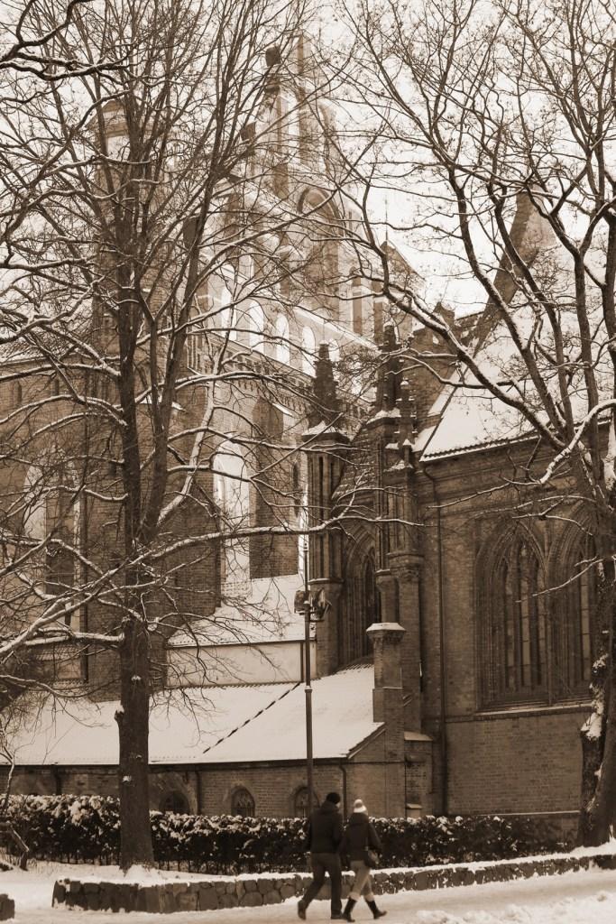 Winter walk, Vilnius