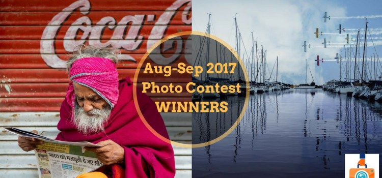 TTIM 99 – Winners of the August-September 2017 Photo Contest