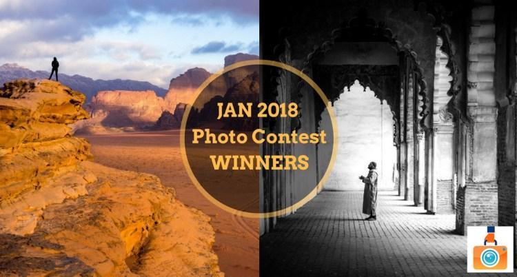 January 2018 Photo Contest Winners