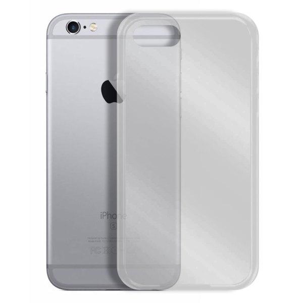Apple hoesjes Siliconen hoesje voor Apple iPhone 6 / 6S – Transparant