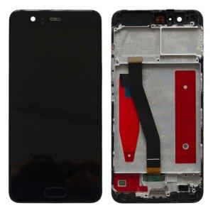 P10 Huawei – P10 – LCD met Frame – Zwart