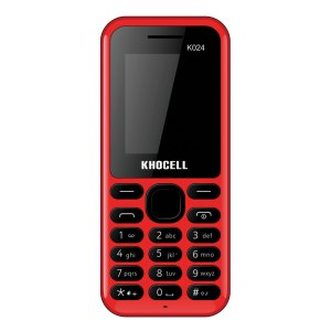 Khocell Telefoons Khocell – K024 – Mobiele telefoon – Rood