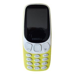 Khocell Telefoons Khocell – K14S+ – Mobiele telefoon – Met prepaid – Geel