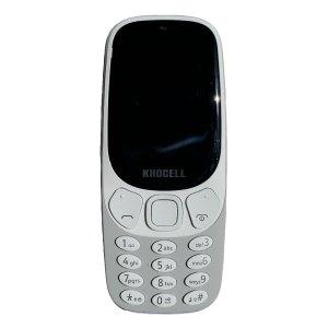 Khocell Telefoons Khocell – K14S+ – Mobiele telefoon – Met prepaid – Grijs
